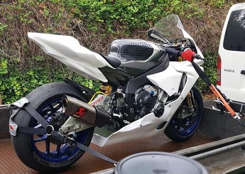R1M track bike