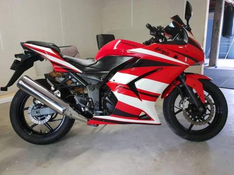 Kawasaki Ninja 250R 2008 Model (Rego and RWC)