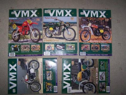 VMX vintage motocross & dirt bike quarterly magazines