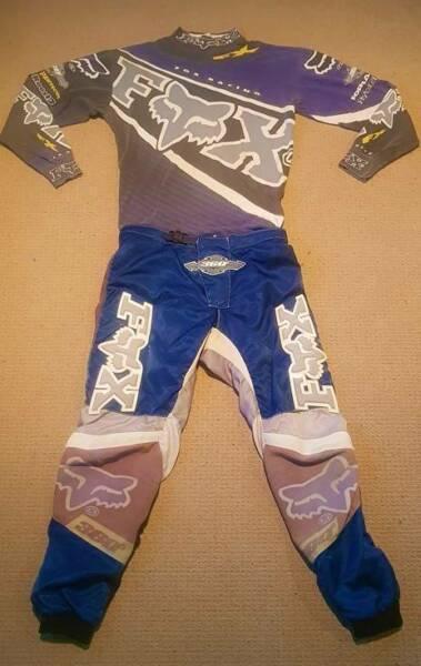 Fox 360 motocross gear set - pants and jersey