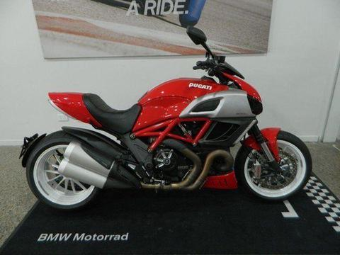 2012 Ducati Diavel 1200CC Cruiser 1198cc