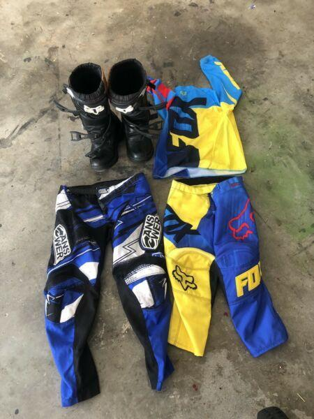 Fox boots and gear
