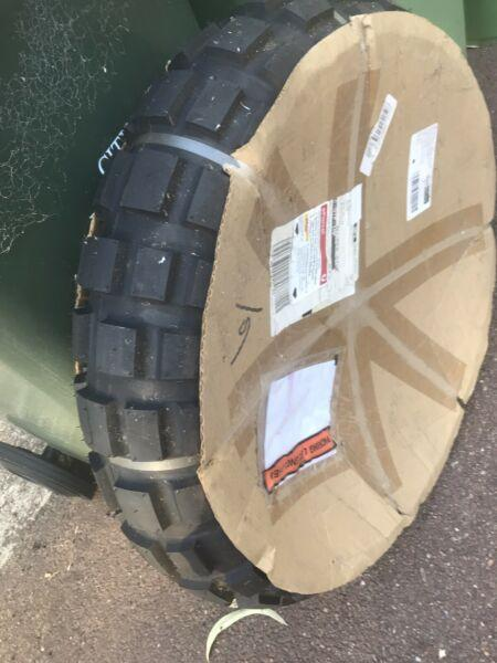 1 New Continental TKC80 150/17/18 RearTyre