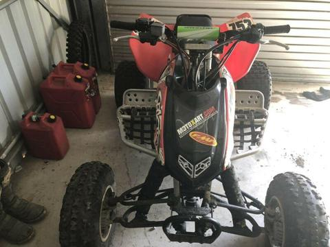 2005 Honda trx 450. Racing quad