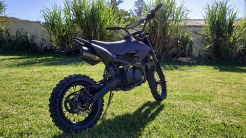 Dirt pit bike thumpstar 125cc 4 stroke Manual [POWERFUL]