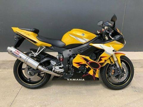 2005 Yamaha YZF-R6 600CC Sports 599cc