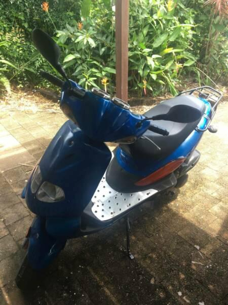 TGB 125cc scooter moped