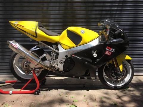 2002 Suzuki GSXR 1000 Track Bike