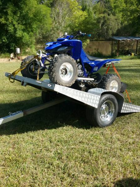Motorbike trailer & Raptor 660