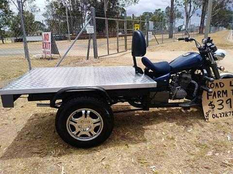 Mighty Trike motorcycle farm bike