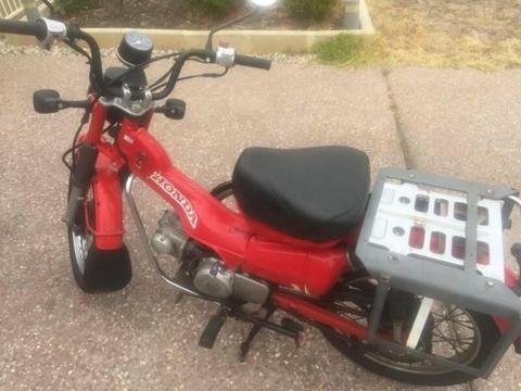 CT110 (Ex Postie bike)