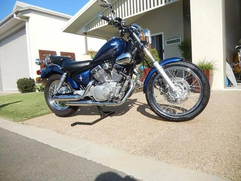 Yamaha 250 virago cruiser motor bike