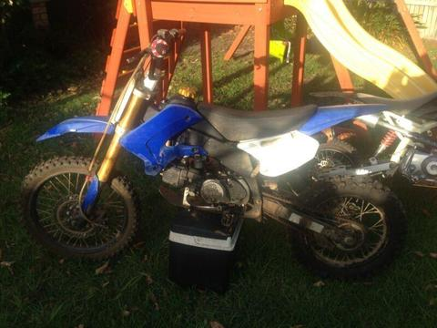 125cc big wheel and 110cc Thumpstar