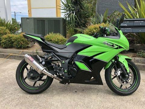 2010 Kawasaki Ninja 250R (EX250) 250CC Sports 248cc