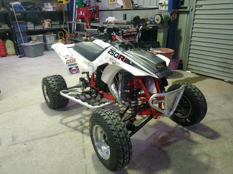 Honda TRX250R ATV 1986 2 stroke