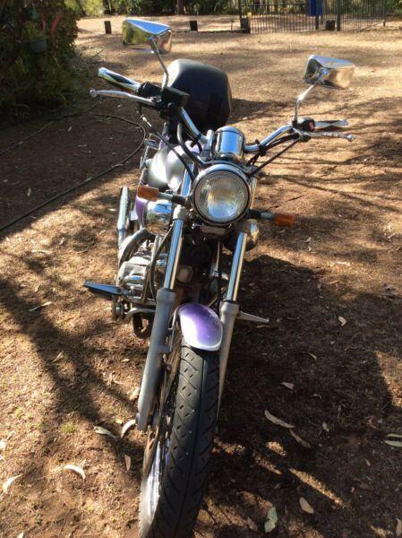 Motorbike Yamaha Virago XV535