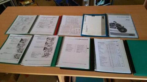 KTM Honda Quad Service manuals