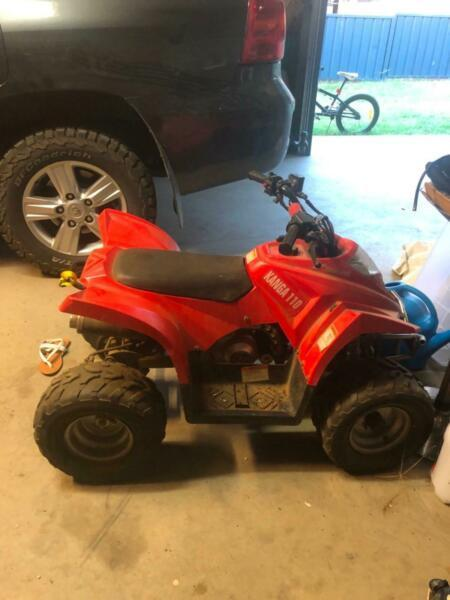 Kanga 110 quad bike