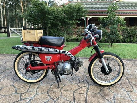 Honda CT 110 post bike