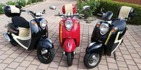 Italian-style Scooter - Vmoto Milan JX50 - 3 to choose from!