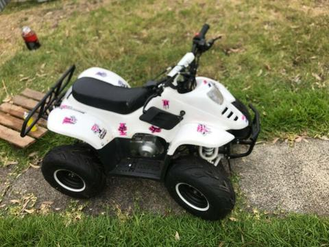 110 cc kids quad bike
