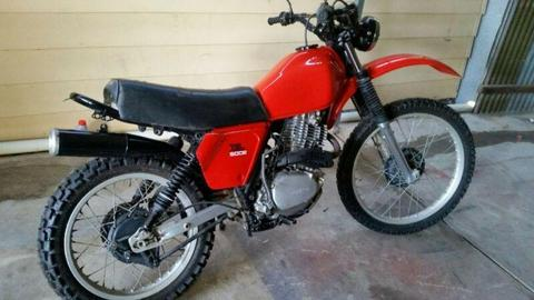Honda xl 500s Motorbike