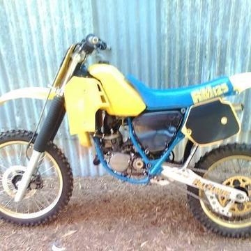 Rm 125 New Plastic - Brick7 Motorcycle