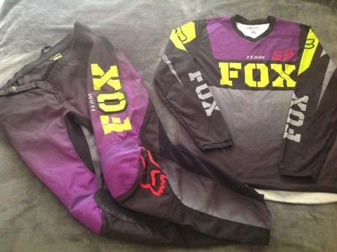 Ladies Fox Motocross Gear