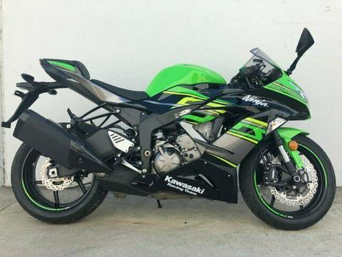 2018 Kawasaki NINJA ZX-6R ABS (636) KRT REPLICA ( Road Bike 636cc