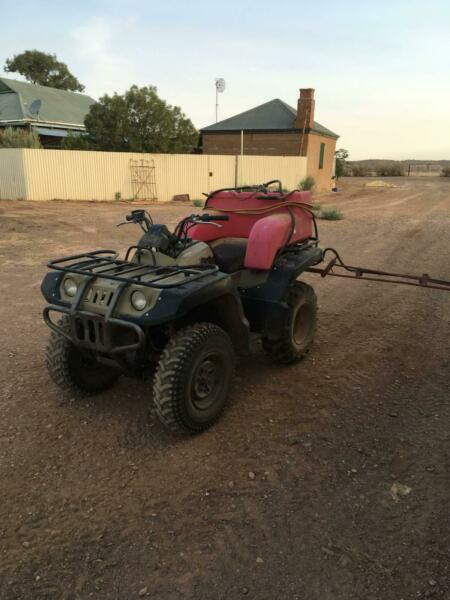 Yamaha 4x4 Quad bike