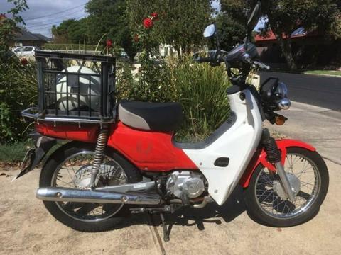 Motor Scooter ex postie bike Honda CT110 2013. 37,650km