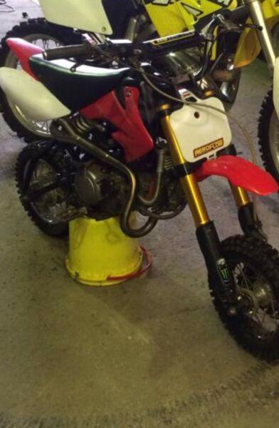Crf 50 frame with a 125 motor