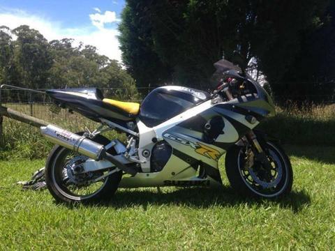 2001 GSXR 1000 K1