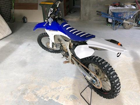 Yz 450f moto