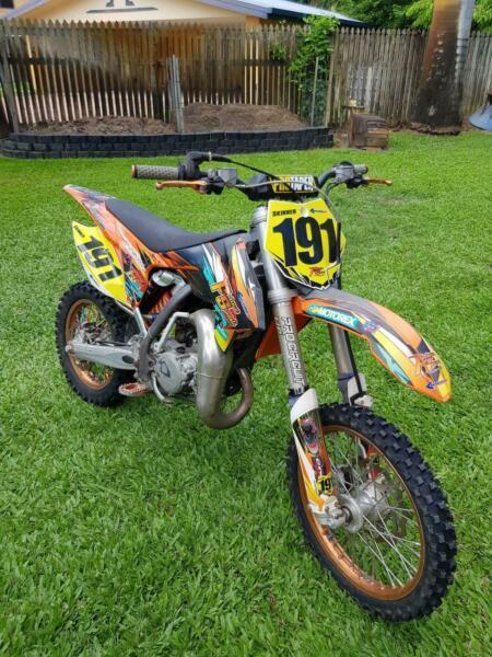 KTM 85cc motorbike
