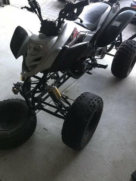 Quad/ATV 250cc manual