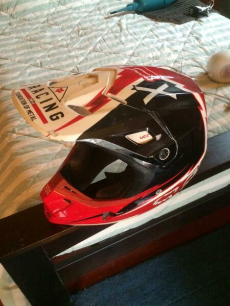 Motorbike helmet Fox