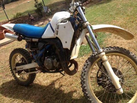 Suzuki TS250X 1990 Bolt - Now Wrecking Complete Bike Email for Pr