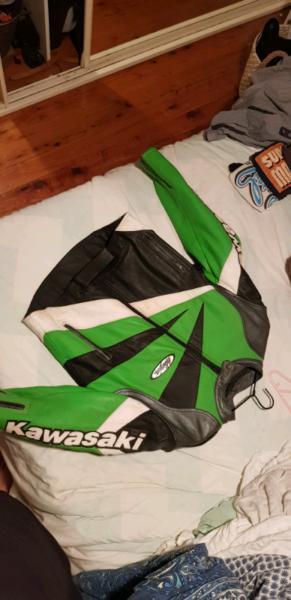 Ninja Kawasaki motor bike jacket