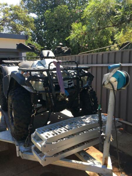 BBM550 ATV Quad bike