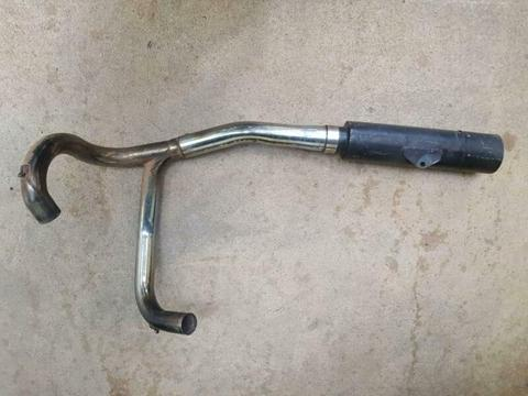 Ducati 900 Exhaust (2 to 1) with Muffler