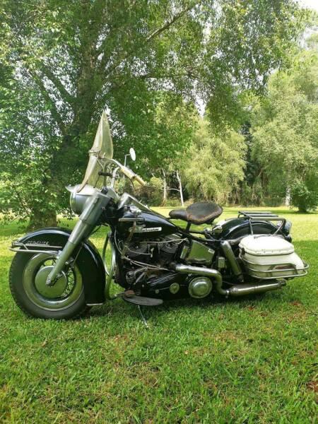 Vintage Harley Davidson Panhead