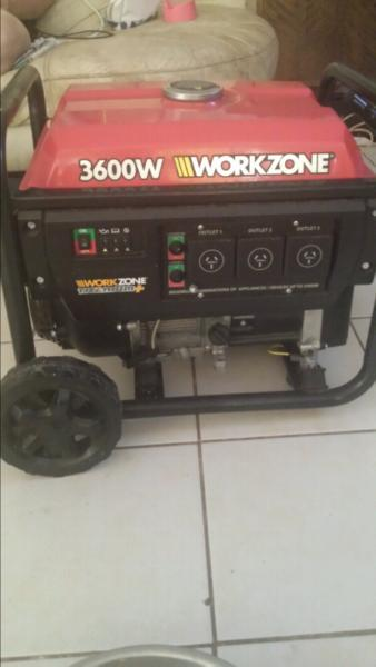 3600watt generator swap for pw50