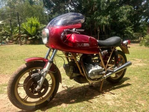 Ducati 860 GTS SuperSport Replica