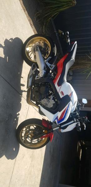 Honda CB650F LAMS