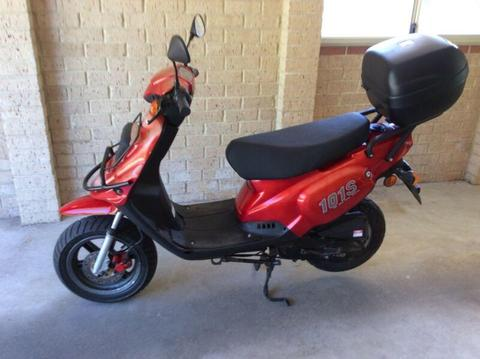 Tgb scooter registered ready to go