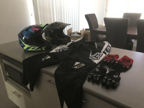 Fox motorbike gear