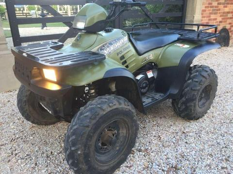 POLARIS SPORTSMAN 500 ATV- FARM QUAD BIKE