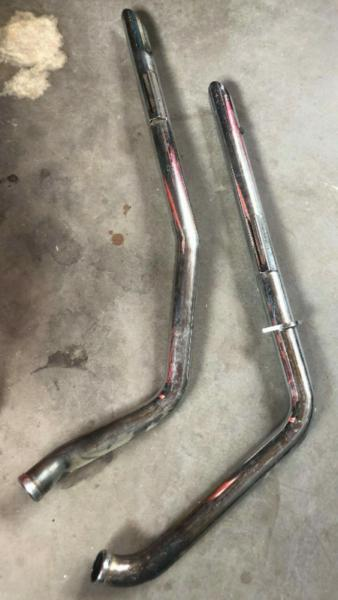 HARLEY DAVIDSON - VANCE & HINES EXHAUST PIPES HEADERS
