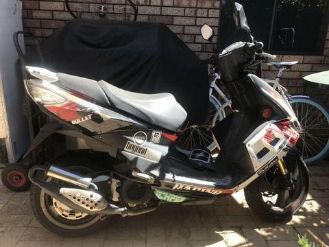 TGB 50cc scooter PARTS